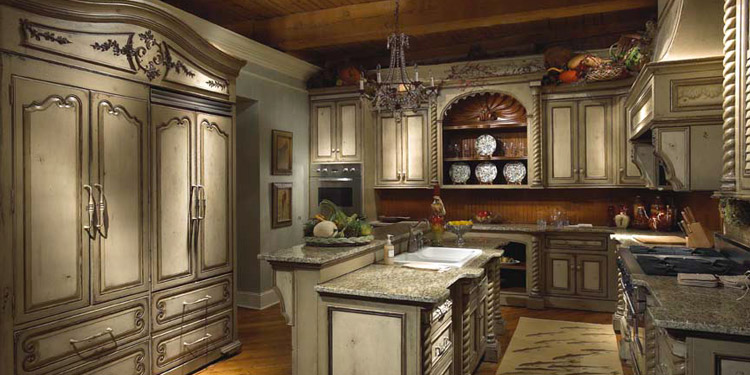 White Habersham Kitchen Cabinetry Product